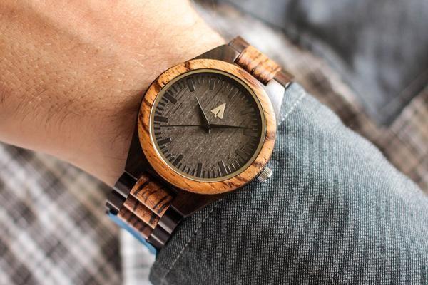 a45a5c222e Treehut Redwood and Ebony Wooden Watch (Men s) Review - trekbible
