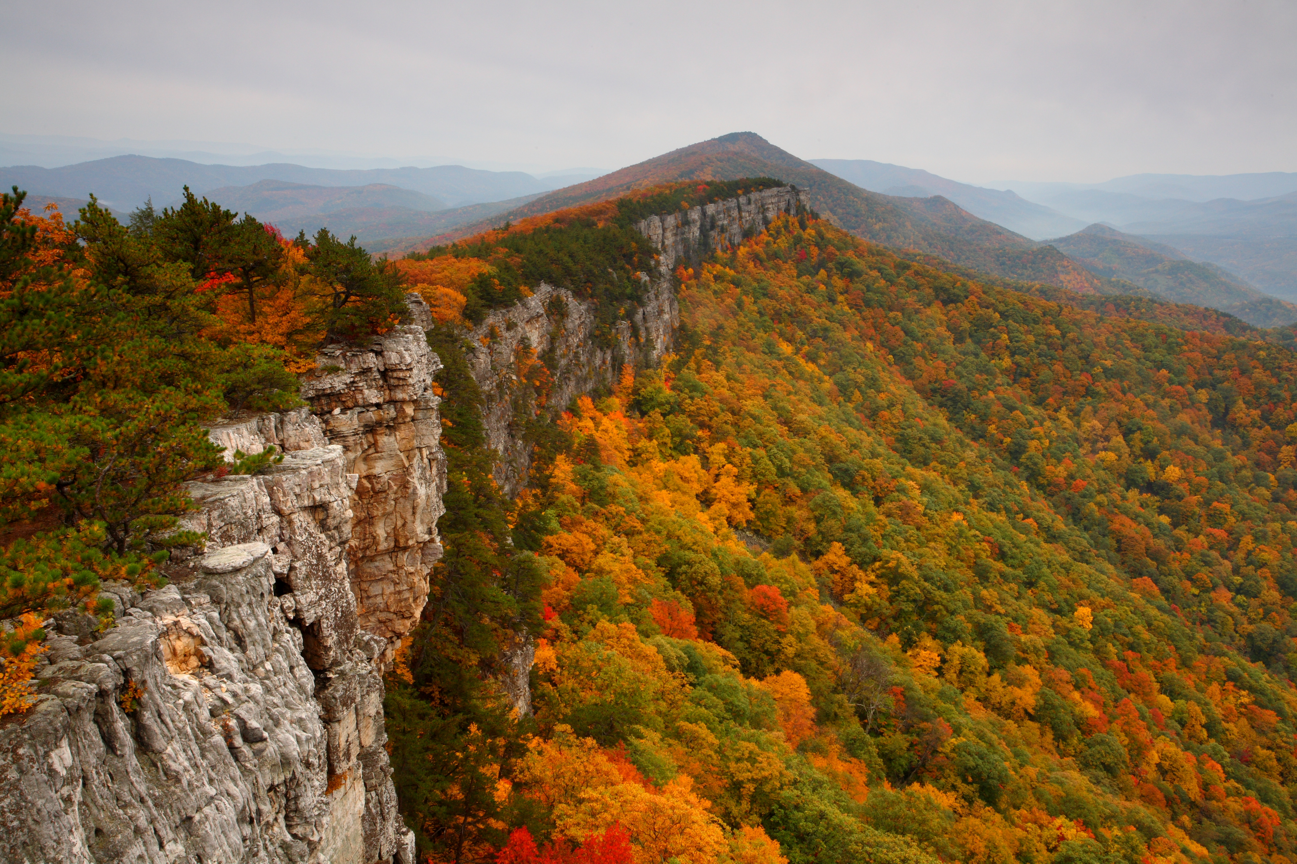 West Virginia mountains - North Fork Mountain