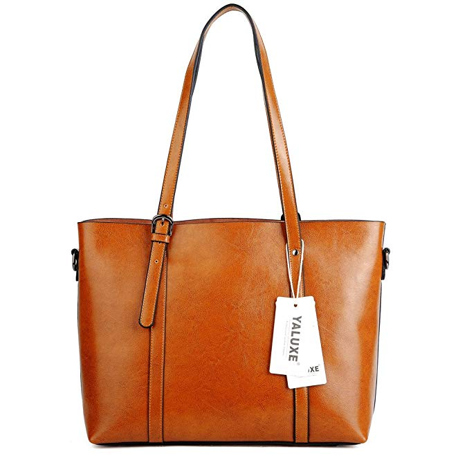 YALUXE Vintage Style Soft Leather