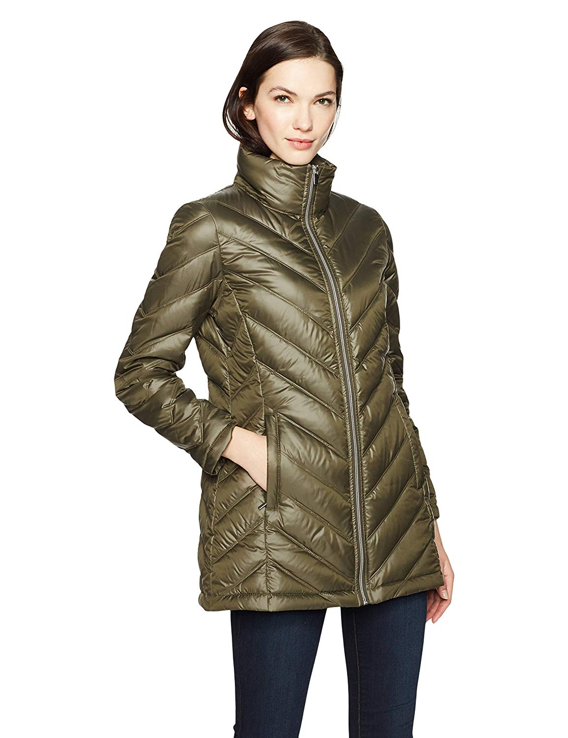 Womens Packable Down Jacket