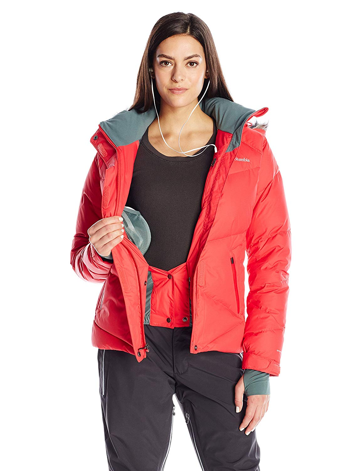 Columbia Women's Lay D Down Jacket Pockets