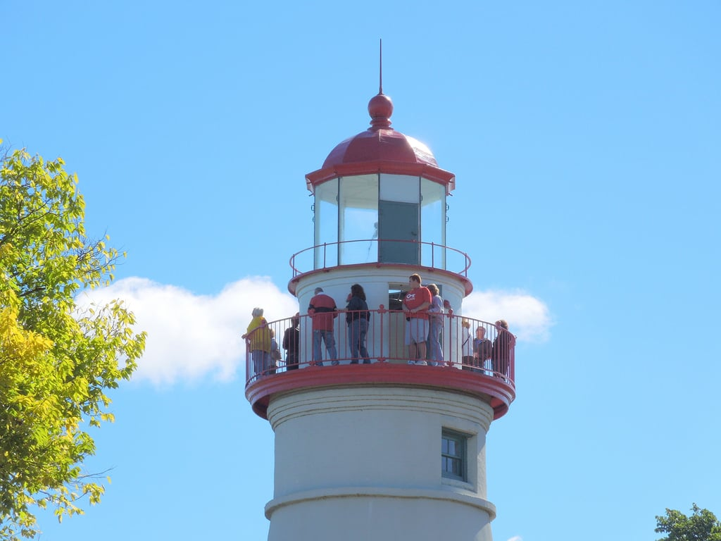 places to visit in ohio - Marblehead Lighthouse