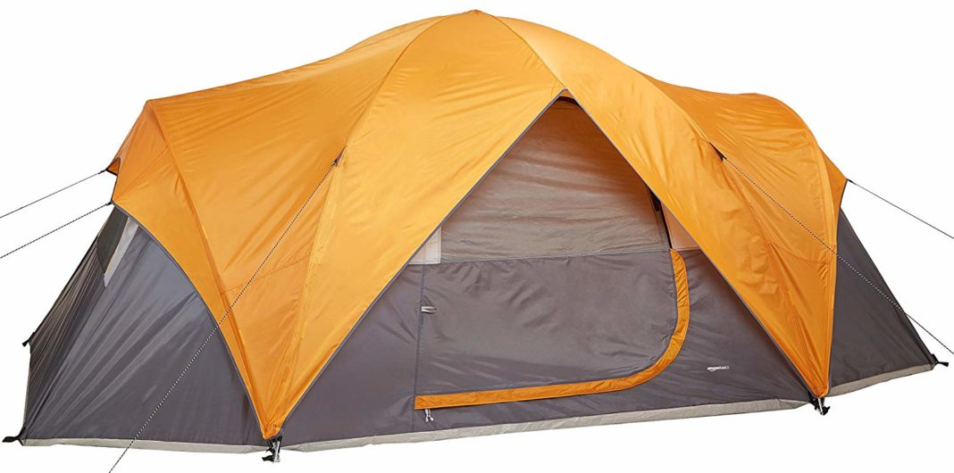 best car camping tent - AmazonBasics