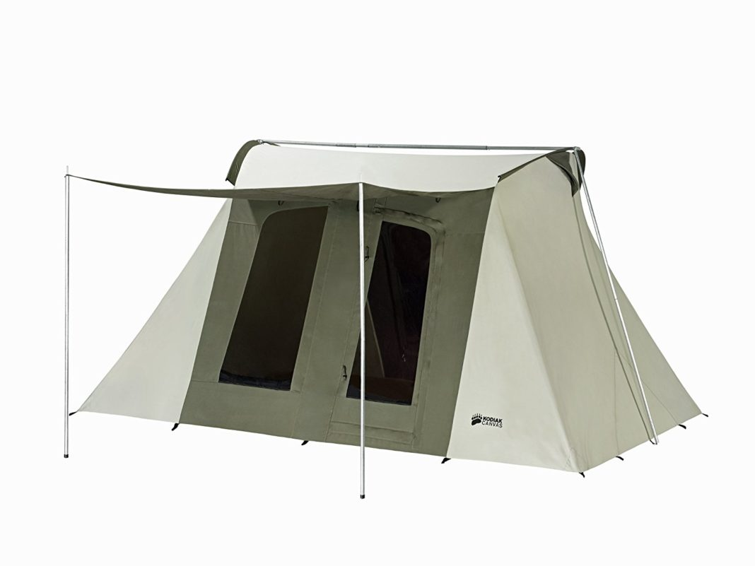best car camping tent - Kodiak Canvas