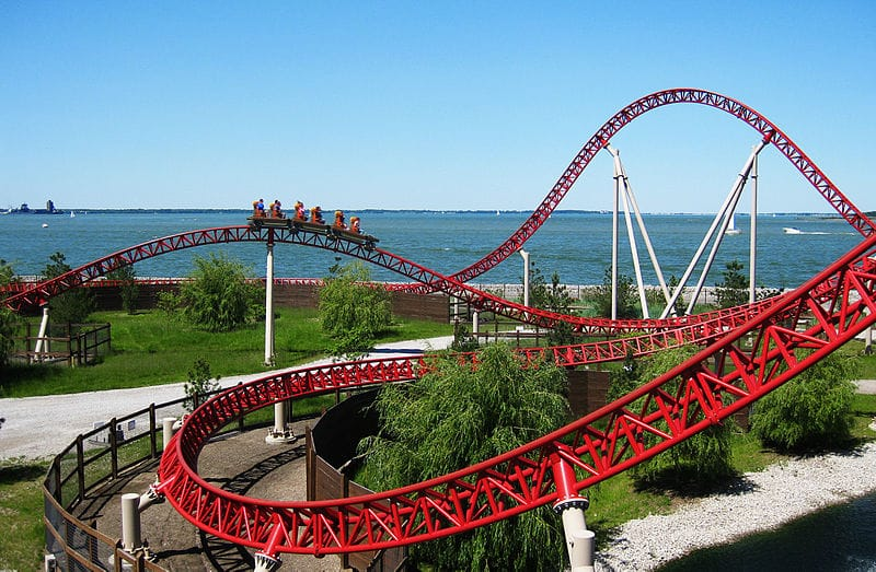 places to visit in ohio - Cedar Point Amusement Park