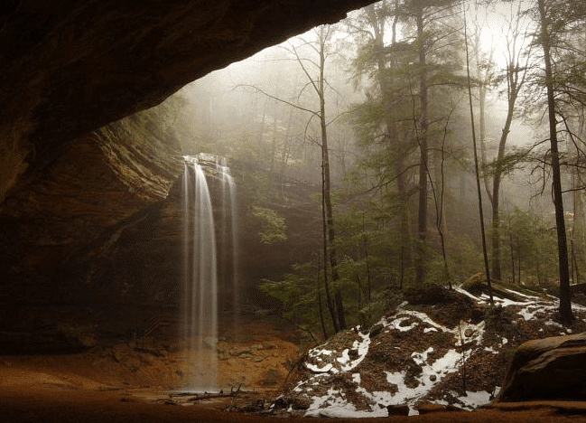places to visit in ohio - Hocking Hills