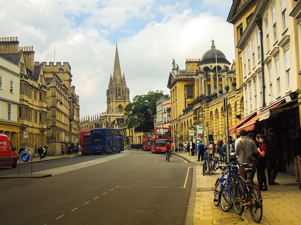 London streets - Oxford