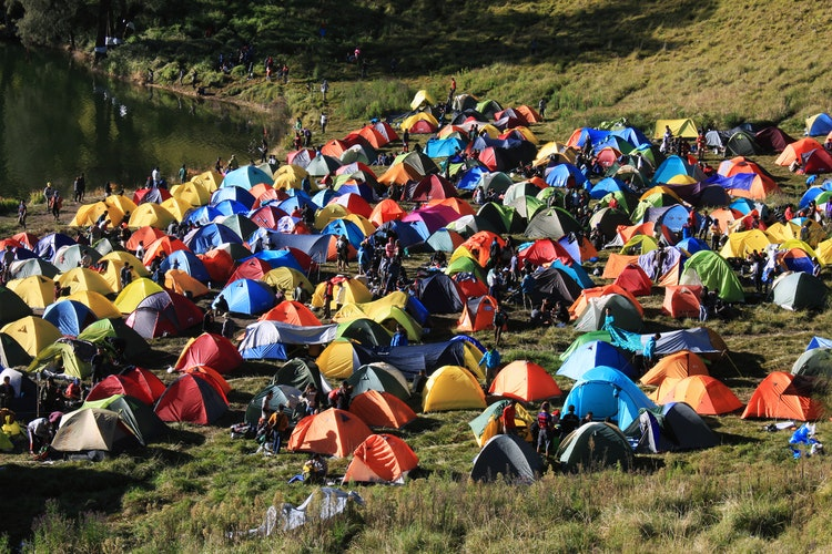 types of tents