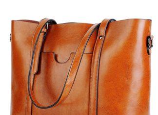 yaluxe, yaluxe wallet, yaluxe purse, YALUXE Vintage Style Soft Leather Work Tote
