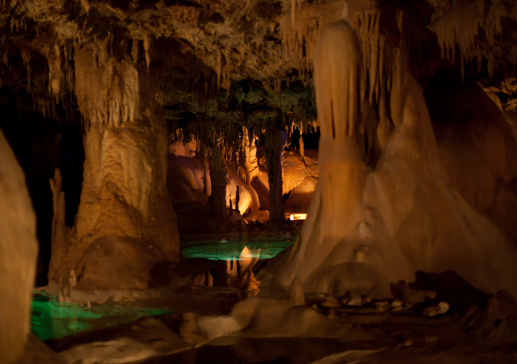 best weekend getaways in texas - Inner Space Caverns, Georgetown