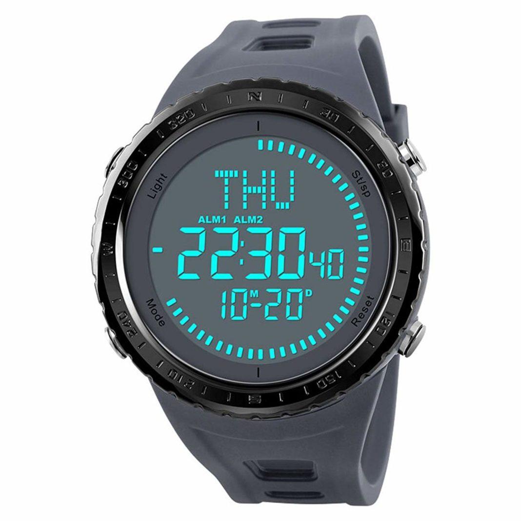 SKMEI men's compass watch