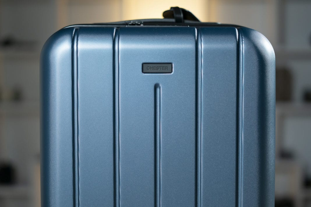 """c5c13f6445d5 The Minima Carry-On: A Lightweight 22"""" Spinner from Chester Travels ..."""