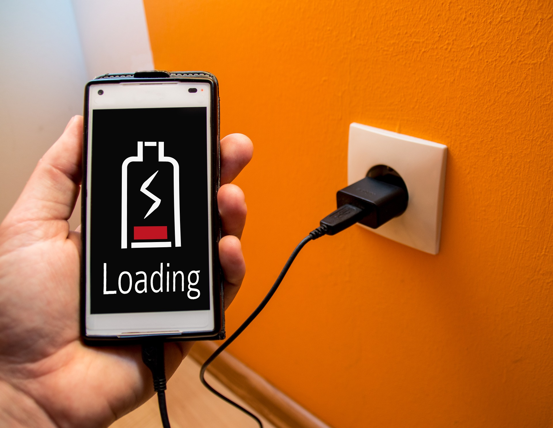 how to charge your phone faster - Power up using a wall charger
