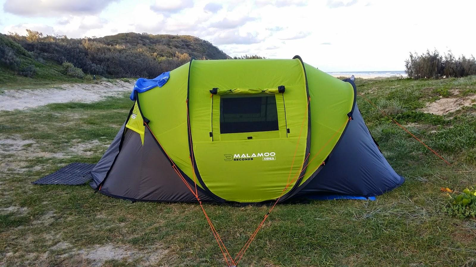 timeless design 755b3 a10f0 Malamoo Mega 3 Second 4 Person Waterproof Tent Review ...