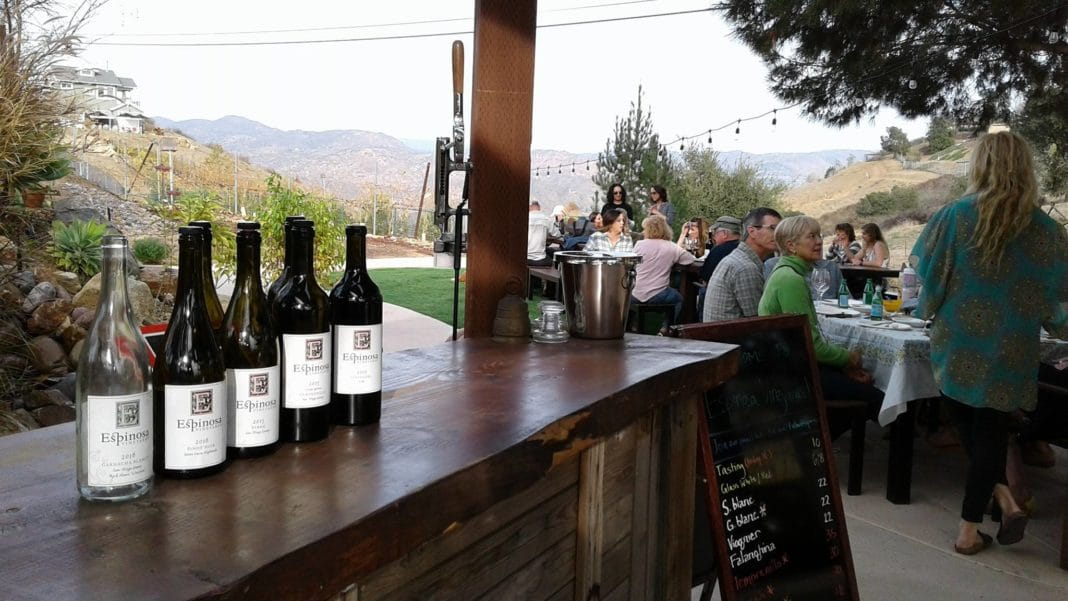 San Diego Wineries -  Espinosa Vineyards and Winery