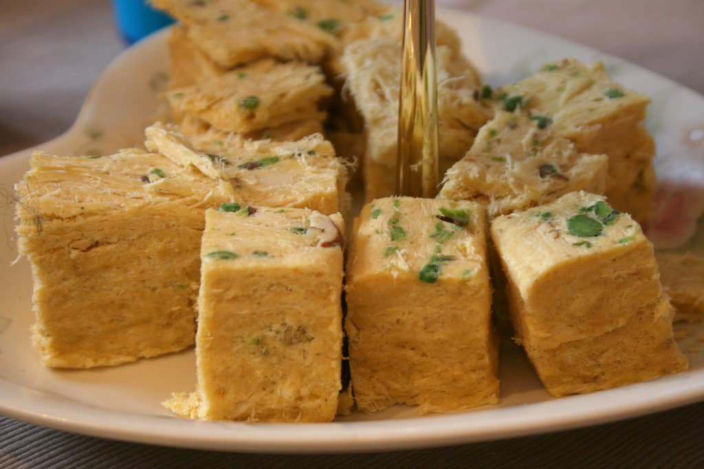 Indian desserts - Soan Papdi