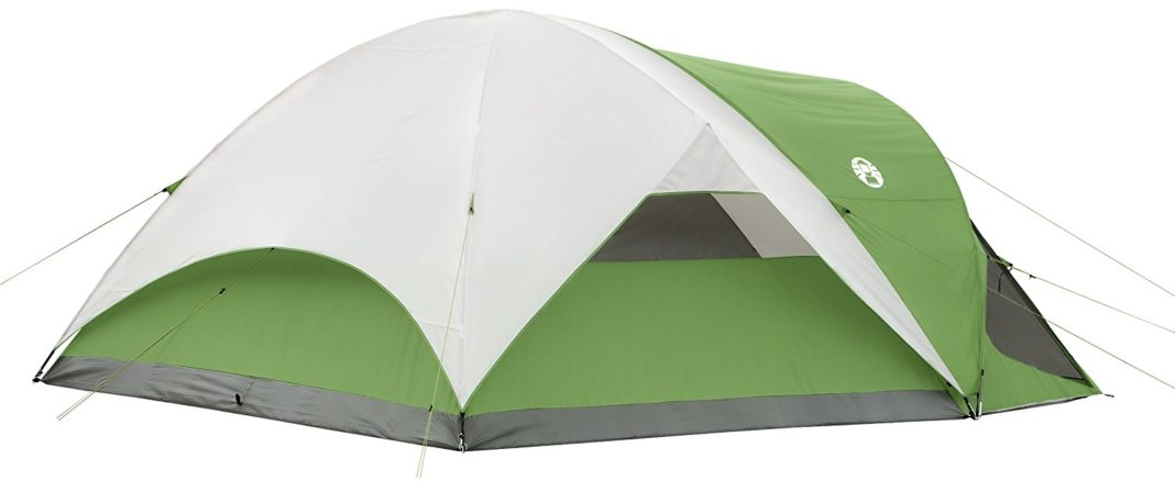 Coleman Evanston Screened 8 Tent - WeatherTec System