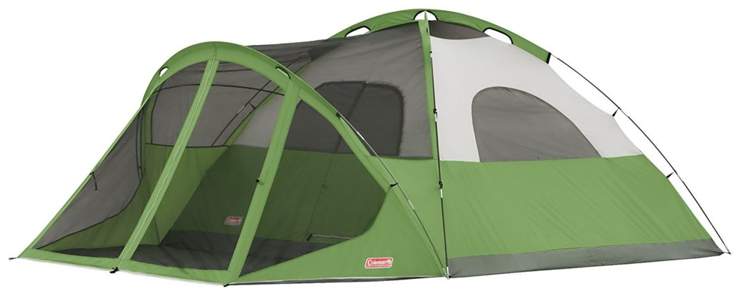 Coleman Evanston Screened 8 Tent - Mesh Windows