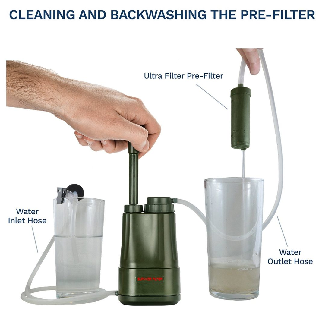 Survivor Filter PRO - Cleaning and Storage