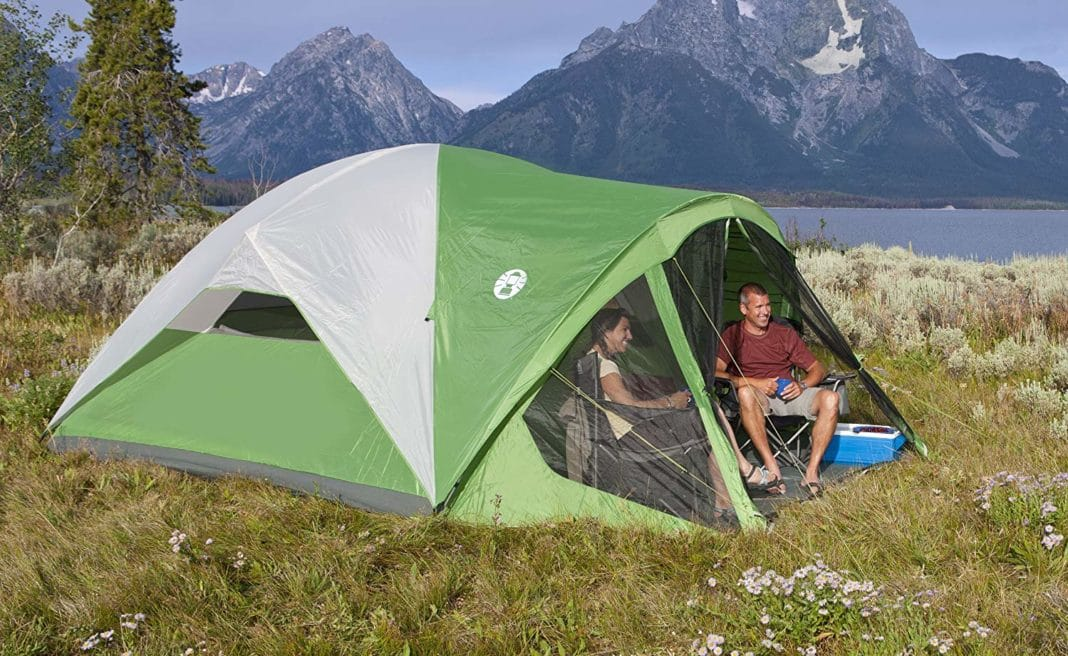 Coleman Evanston Screened 8 Tent