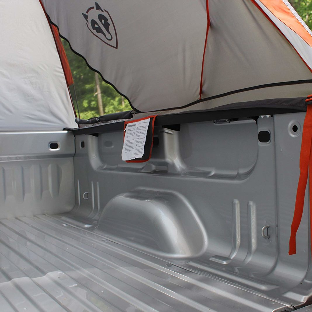Full-Size Rightline Truck Tent - Floorless Design