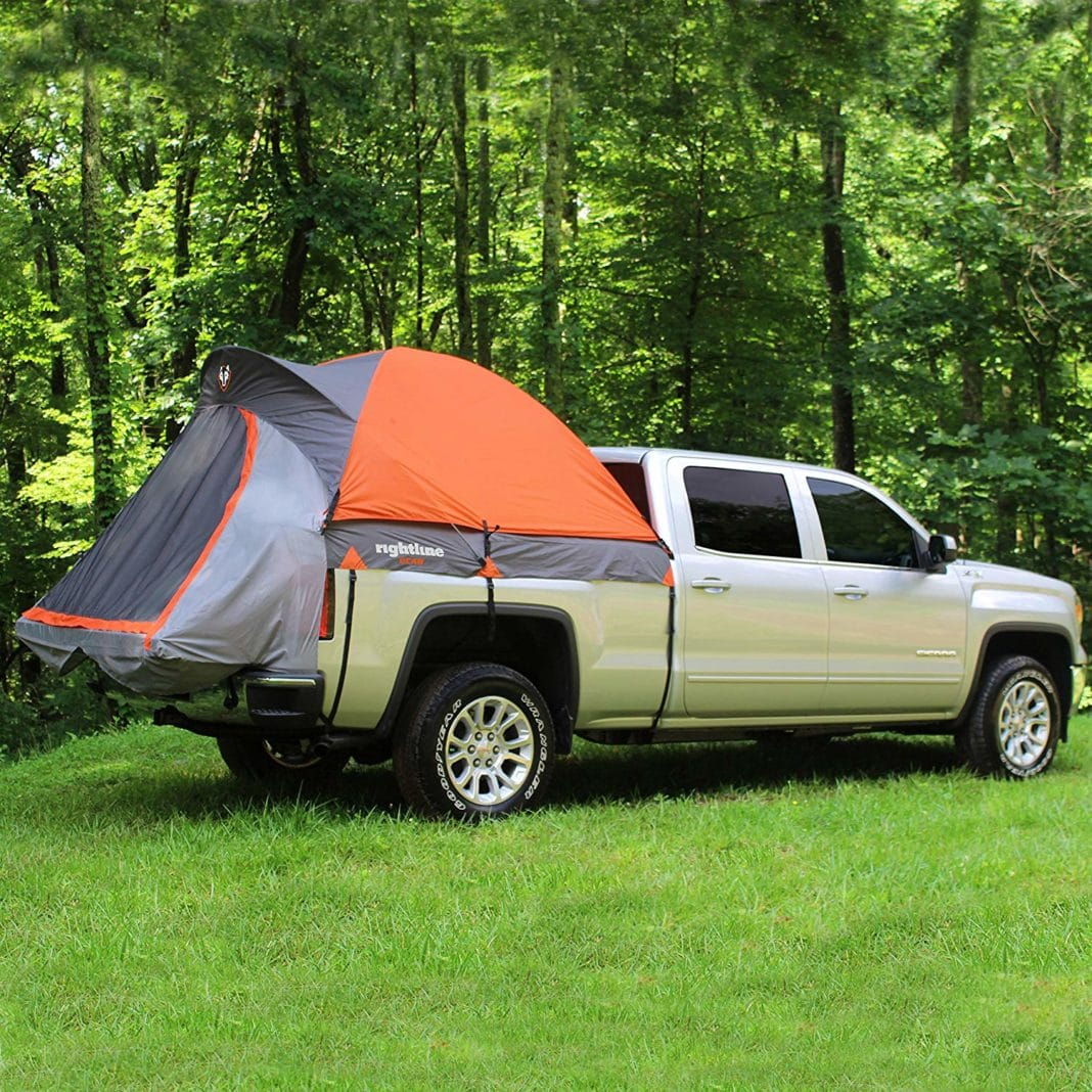 Full-Size Rightline Truck Tent - Easy to Assemble