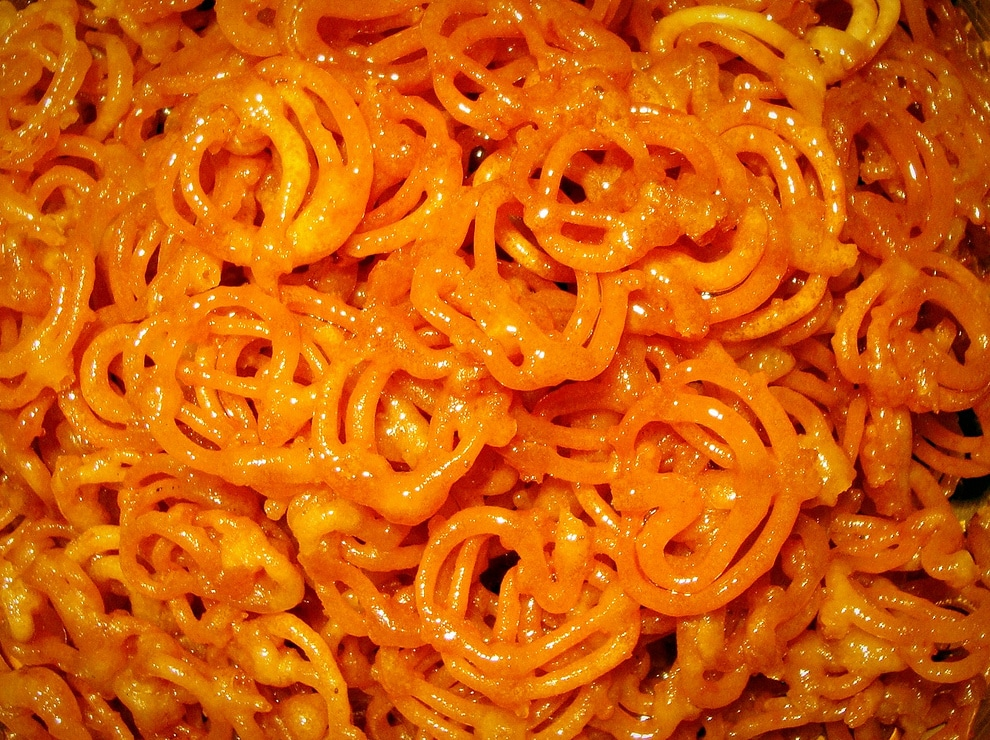 Indian desserts - Jalebi