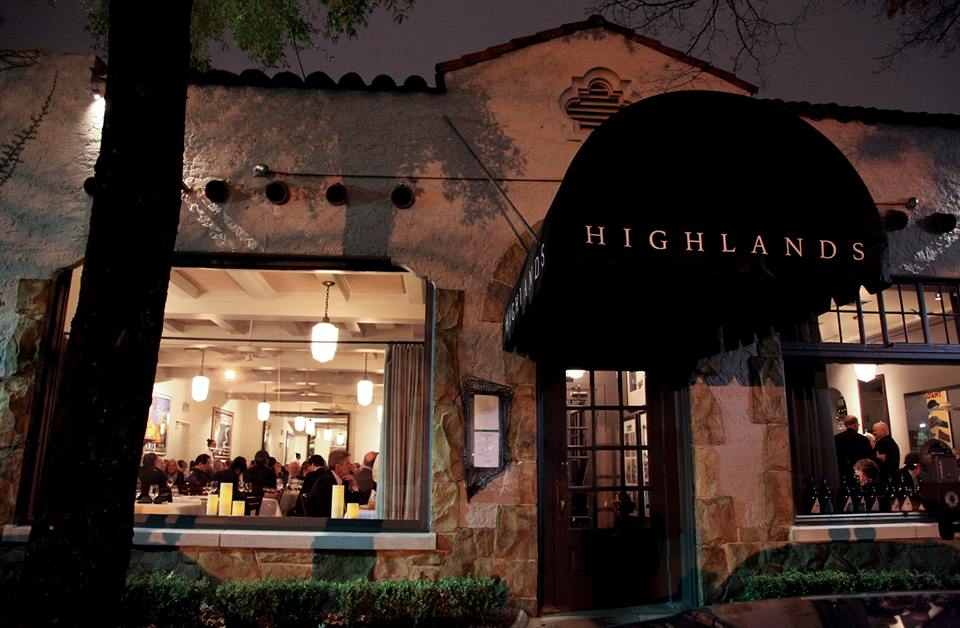 romantic restaurants - Alabama – Highlands Bar & Grill
