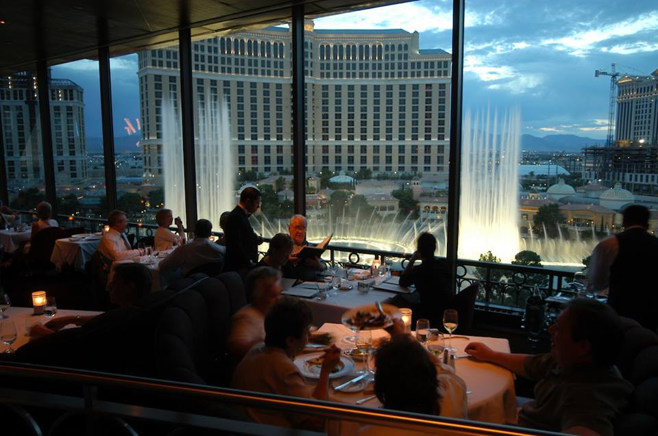 romantic restaurants - Nevada – Eiffel Tower Restaurant