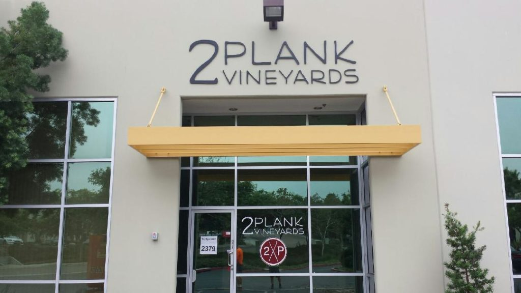 San Diego Wineries - 2Plank Vineyards