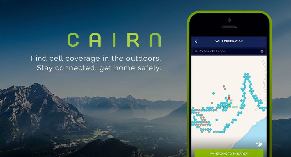 best hiking apps - Cairn