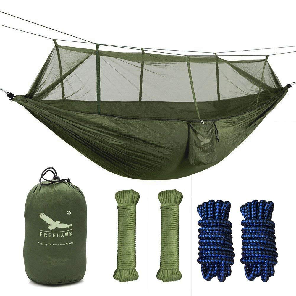 Outfandia Camping Hammock with Mosquito Net