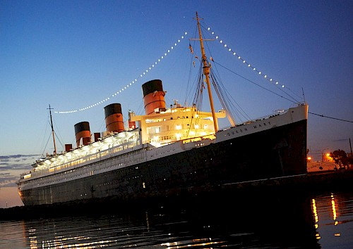 things to do in long beach - The Queen Mary