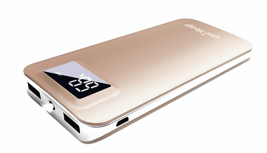 Uni-Yeap 11000 mAh External Battery Charger Power Bank