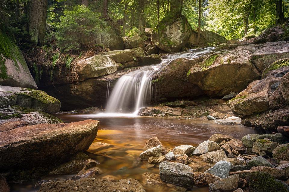 waterfalls in pa