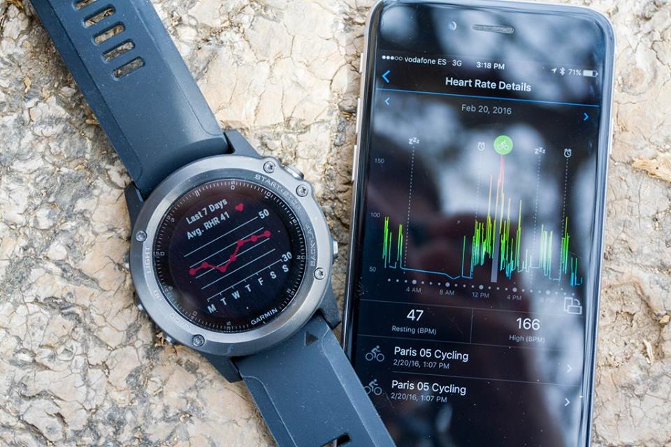 Garmin Fenix 3 HR - Fitness Training