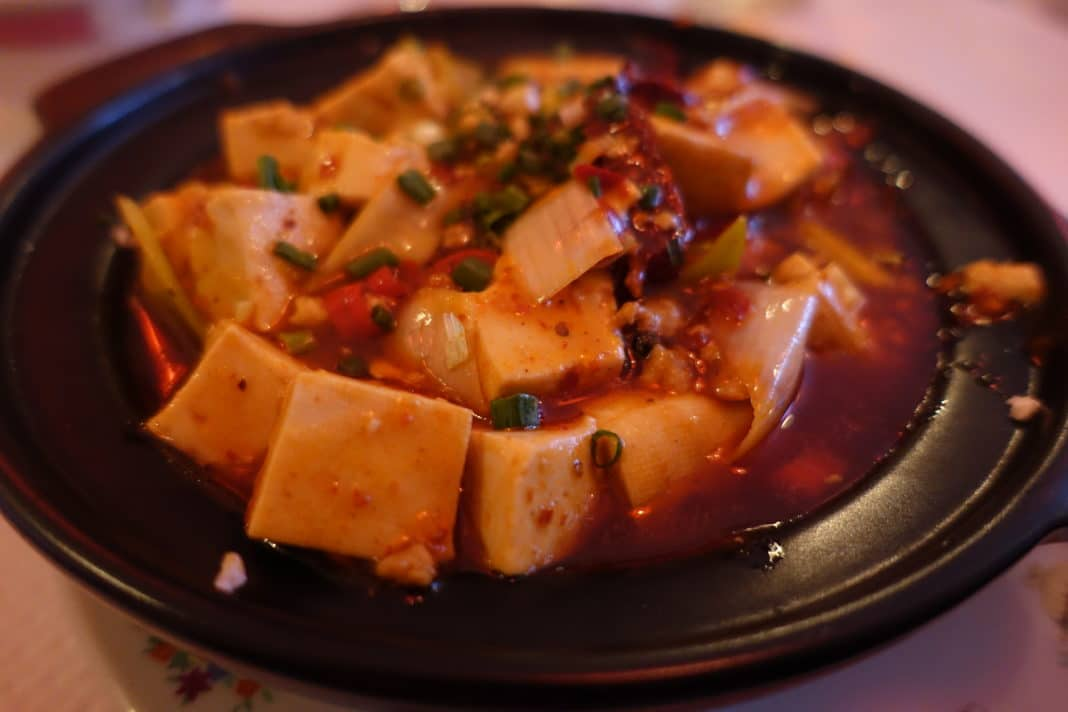 best Chinese dishes - Ma Po Tofu