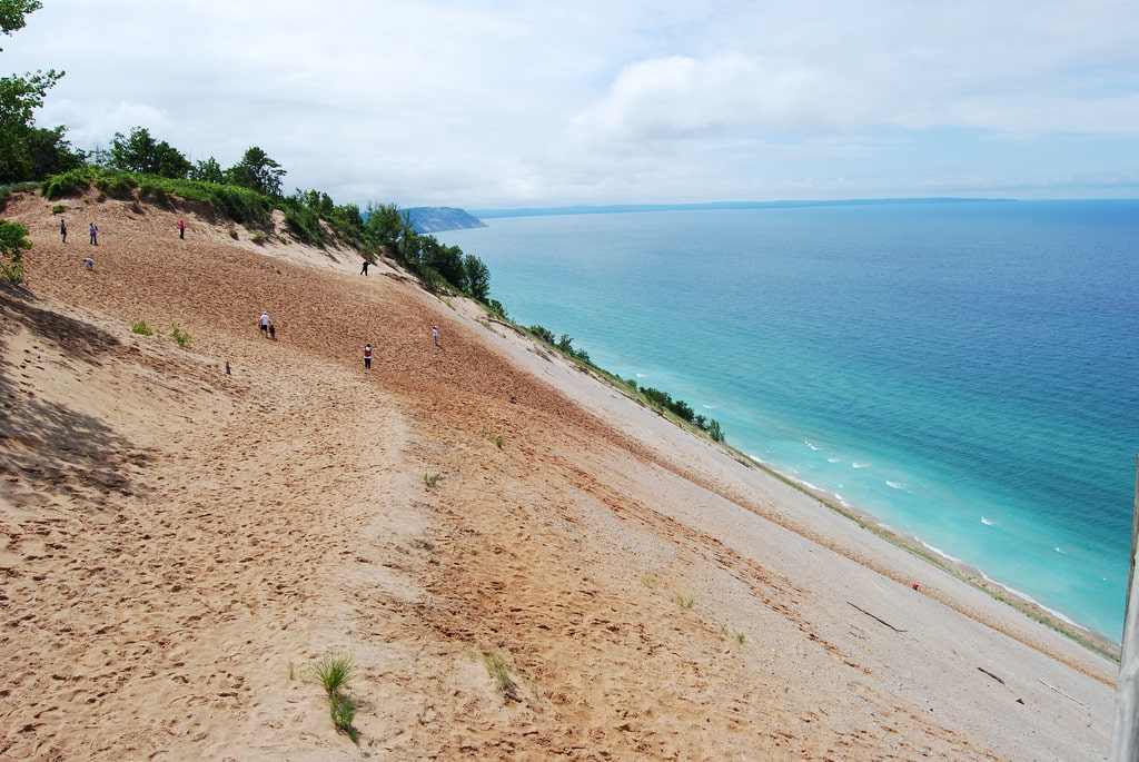 romantic getaways in michigan - Sleeping Bear Dunes