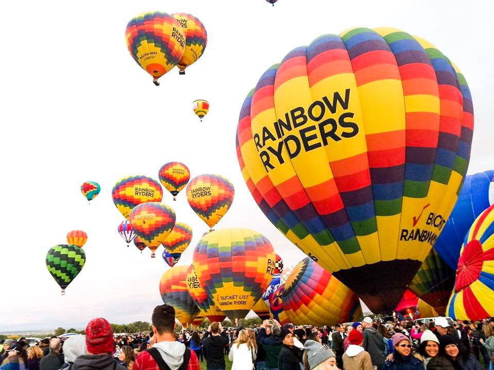 things to do in albuquerque - Hot Air Balloon Ride