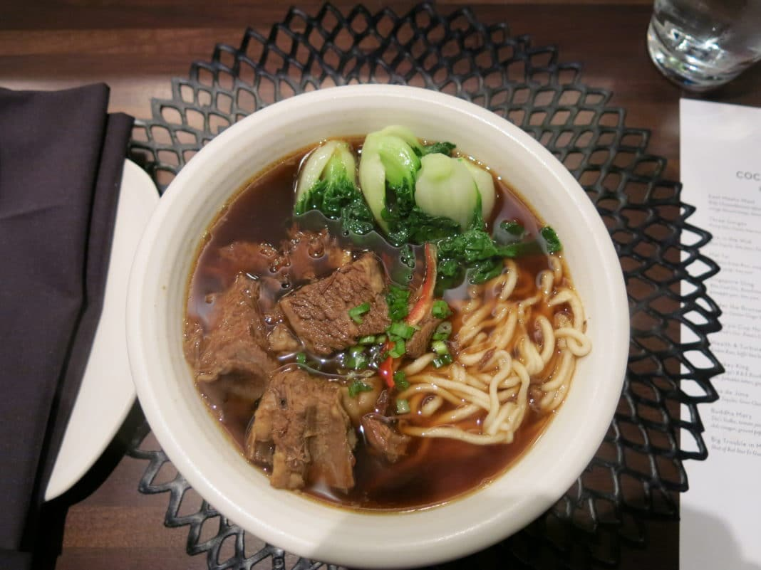best Chinese dishes - Beef Noodles