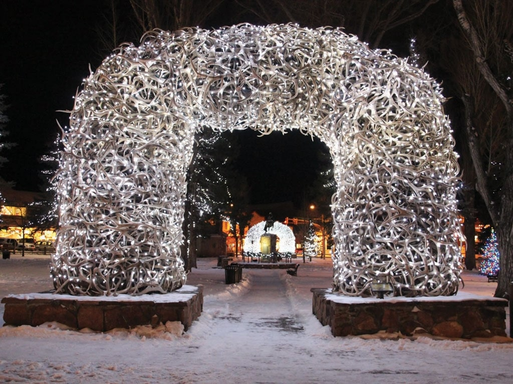 Christmas Light Displays - Wyoming