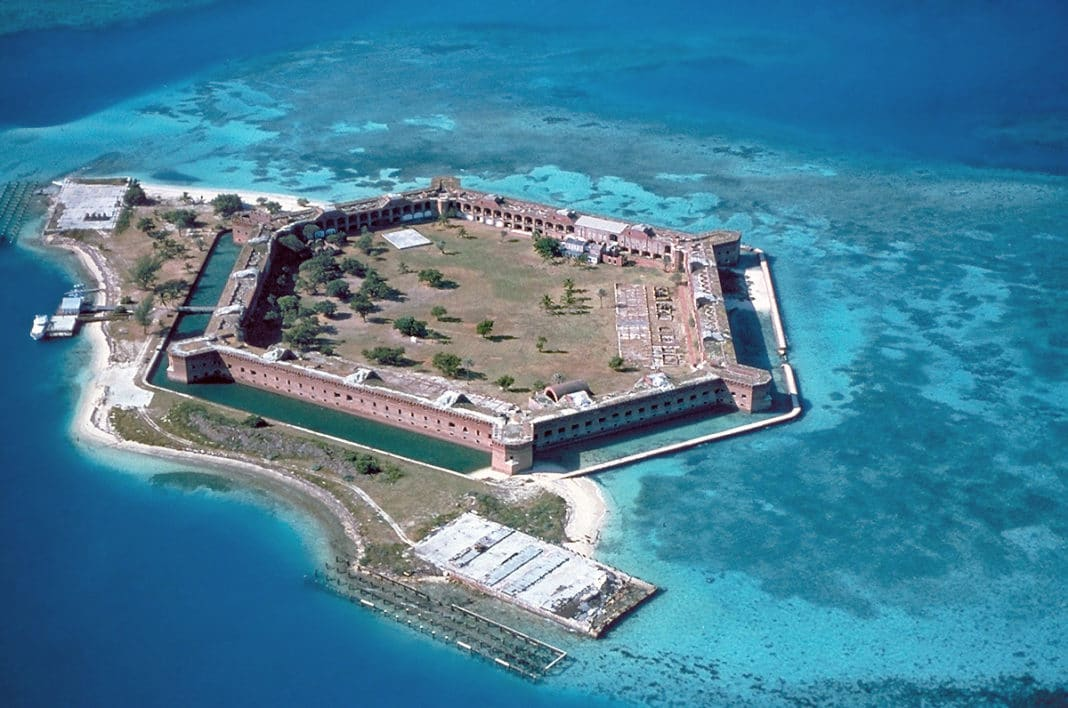 best beaches in key west - Dry Tortugas National Park