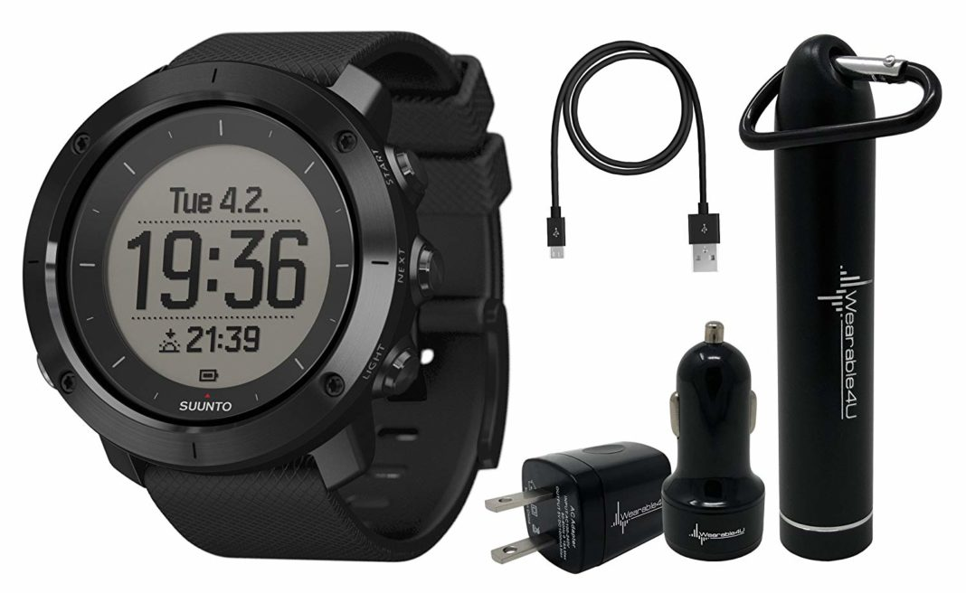 Suunto Traverse GPS Smartwatch - FusedAlti Technology