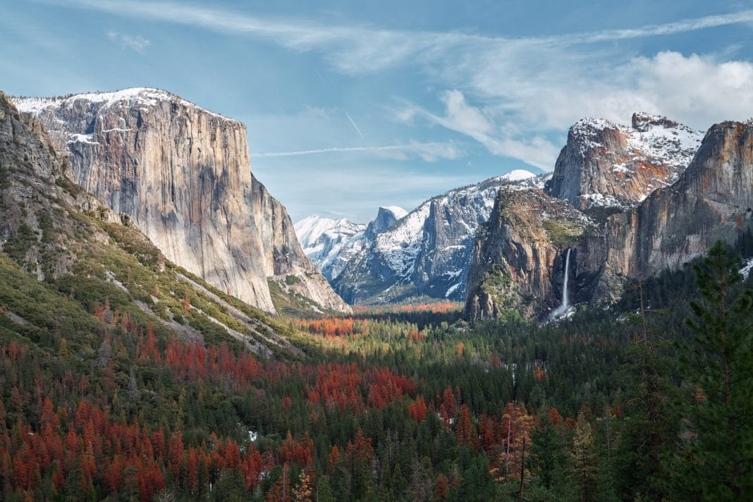 best national parks in california - Yosemite National Park