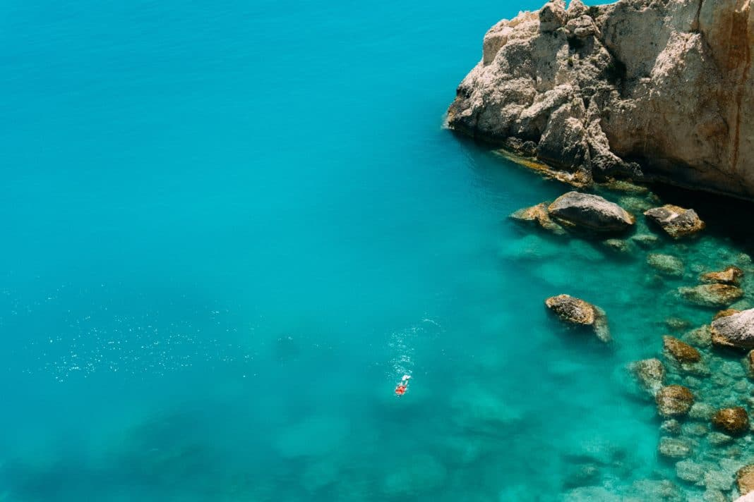 the best time to visit greece - Sea temperatures