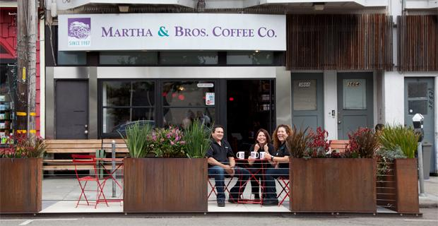 Best Coffee in San Francisco - Martha & Bros Coffee Company