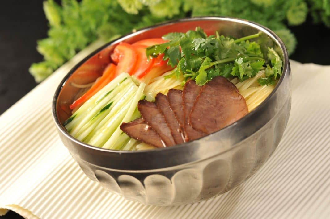 best Chinese dishes - Cold vegetable dish