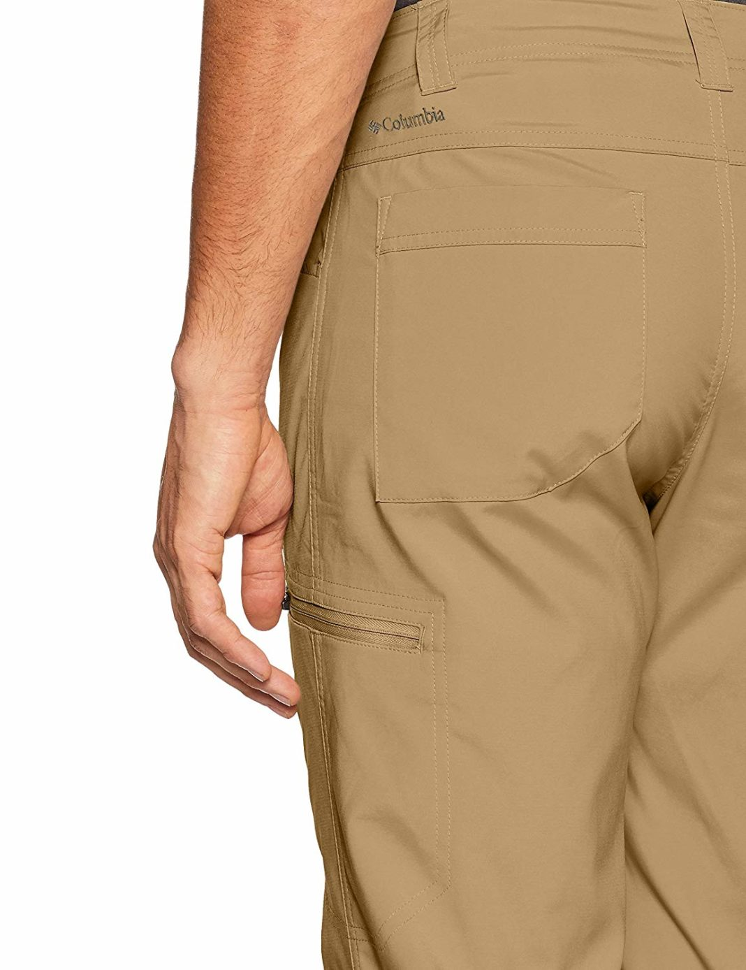Men's Columbia Silver Ridge Stretch Pants - Adjustability
