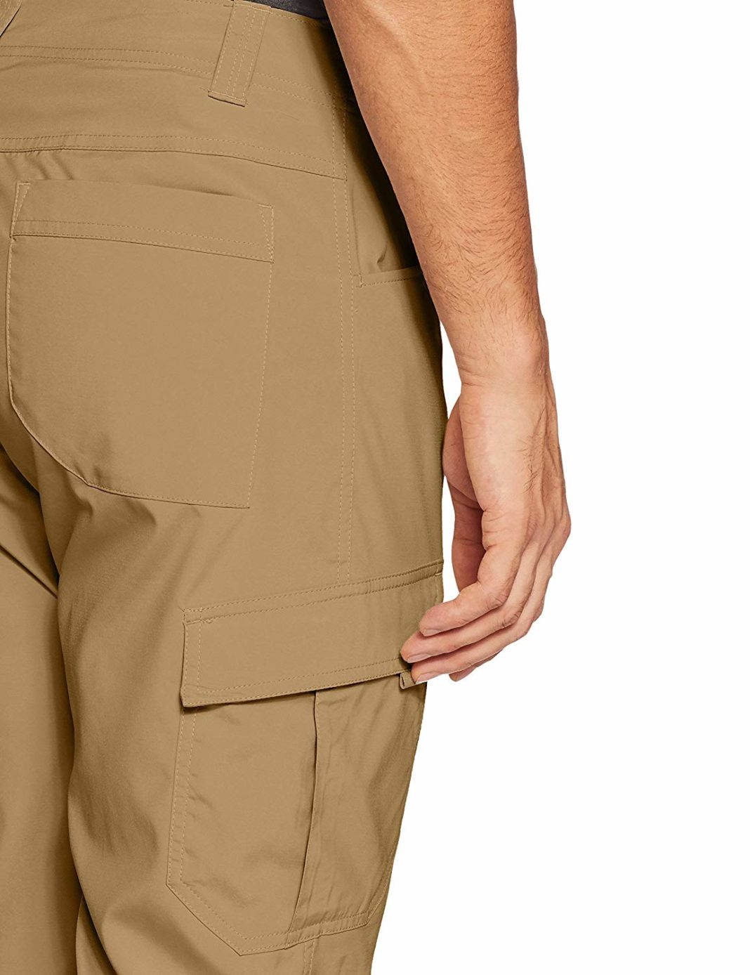 Men's Columbia Silver Ridge Stretch Pants - Storage Features