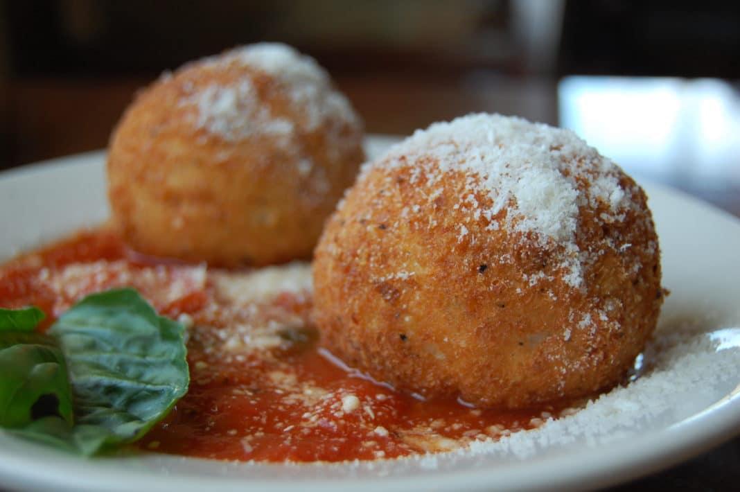 Italian street food - Arancini